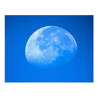 Blauer Mond-Postkarte Postkarte
