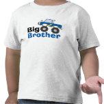 Blauer Monster-LKW-großer Bruder T-Shirts