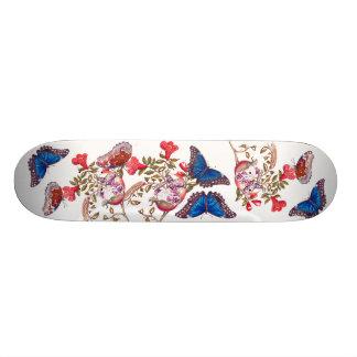 Blauer Morpho 19,1 Cm Old School Skateboard Deck