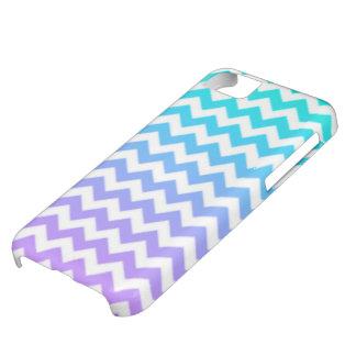 Blauer Ombre Zickzack Telefon-Kasten iPhone 5C Hülle