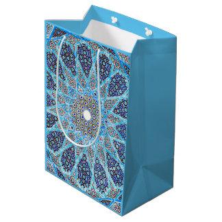 Blauer Orient Mittlere Geschenktüte