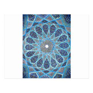 Blauer Orient Postkarte