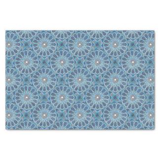 Blauer Orient Seidenpapier