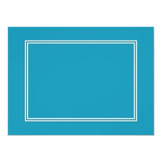 Blauer Ozean BlueDouble weiße beschattete Grenze Karte