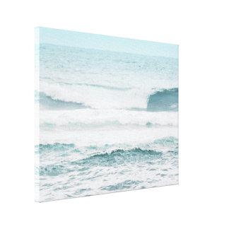 Blauer Ozean in Hawaii Leinwanddruck