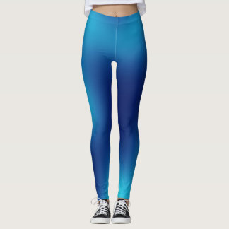 Blauer Ozean Leggings