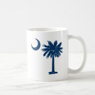 Blauer Palmetto Kaffeetasse