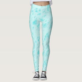 Blauer Pastell Leggings