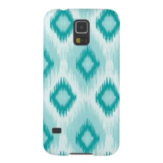 Blauer quatrefoil Samsung-Galaxiekasten Samsung S5 Hülle