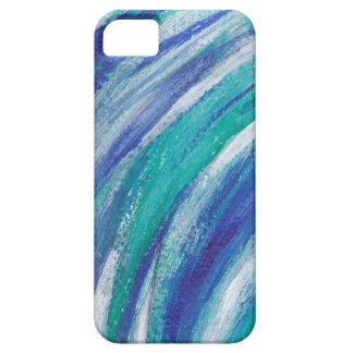 blauer Regenbogen iPhone 5 Hülle