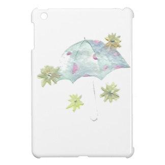 Blauer Regenschirm iPad Mini Hülle
