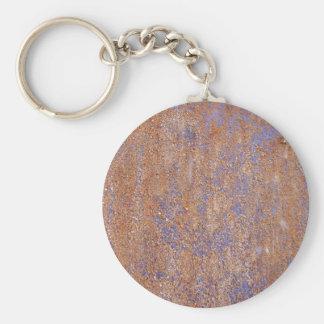Blauer Rost Schlüsselanhänger