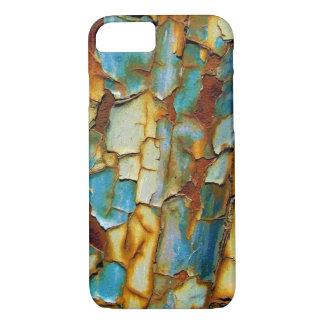 Blauer rostiger abbrechenfarbe iPhone 7 Kasten iPhone 8/7 Hülle