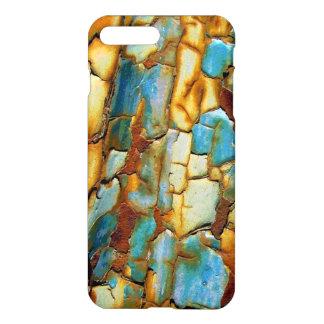 Blauer rostiger abbrechenfarbe iPhone 7 Pluskasten iPhone 8 Plus/7 Plus Hülle