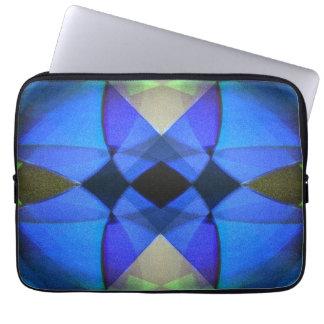 Blauer Schmetterling Laptopschutzhülle