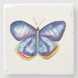 Blauer Schmetterling Steinuntersetzer