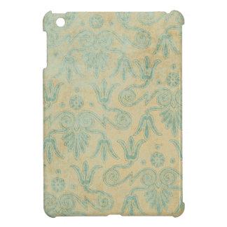Blauer Schmutz-dekorativer Musterhintergrund iPad Mini Hülle