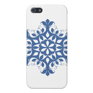 Blauer Schneeflocke iPhone 5C Kasten iPhone 5 Cover