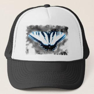 Blauer Schock-Schmetterling Truckerkappe