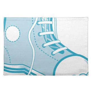 Blauer Schuh Tischset