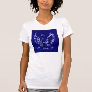 Blauer Schwan T-Shirt