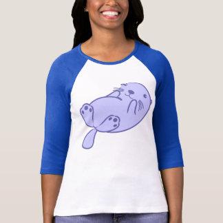 Blauer Seeotter T-Shirt