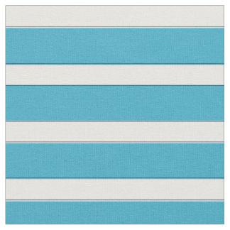 Blauer Seestreifen, blaues Stripy Gewebe Stoff
