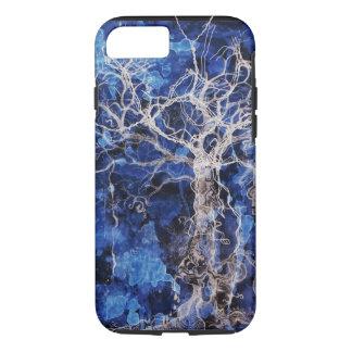 Blauer Sinti und Roma-Baum des Lebens iPhone 8/7 Hülle