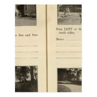 Blauer Speicher-oberer roter Haken Rhinebeck Postkarte