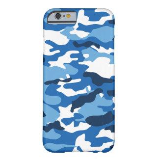 Blauer städtischer Kasten der Camouflage-iPhone6 Barely There iPhone 6 Hülle
