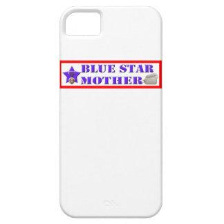 Blauer Stern-Mutter-verletzter Krieger IPhone 5 Fa iPhone 5 Schutzhülle