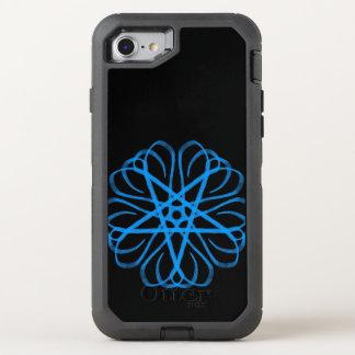 Blauer Stern OtterBox Defender iPhone 8/7 Hülle