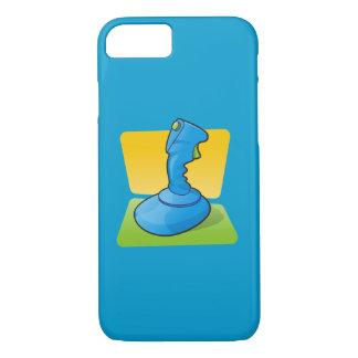 Blauer Steuerknüppel iPhone 8/7 Hülle