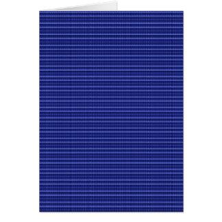 Blauer Streifen-Beschaffenheits-Schablone DIY Karte