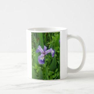 Blauer Sumpf-Schwertlilie-Iris Kaffeetasse