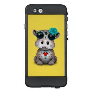 Blauer Tag des toten Baby-Flusspferds LifeProof NÜÜD iPhone 6 Hülle