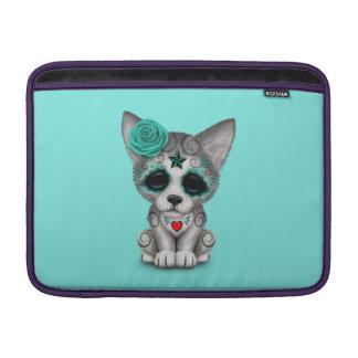 Blauer Tag des toten Wolfs CUB MacBook Air Sleeve