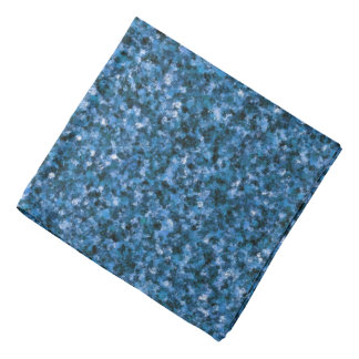 Blauer TarnungBandana Kopftuch