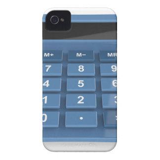 Blauer Taschenrechner iPhone 4 Hülle