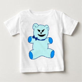 Blauer Teddybär Baby T-shirt