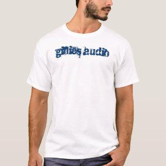 Blauer Text 2 T-Shirt