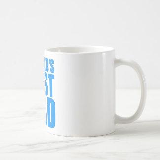 blauer Textentwurf des Weltbester Vati-Vatertags Kaffeetasse