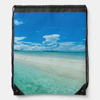 Blauer tropischer Meerblick, Palau Turnbeutel