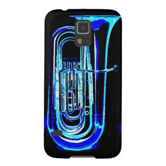 Blauer Tuba Hülle Fürs Galaxy S5