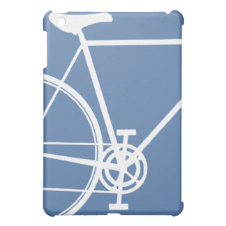Blauer und weißer abstrakter IPad Minikasten iPad Mini Hülle