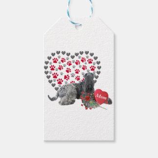 Blauer Valentinsgruß Kerrys für Mamma Geschenkanhänger
