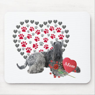 Blauer Valentinsgruß Kerrys für Mamma Mousepad