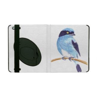 Blauer Vogel iPad Hülle