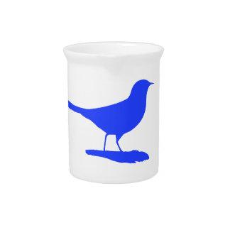 Blauer Vogel Krug