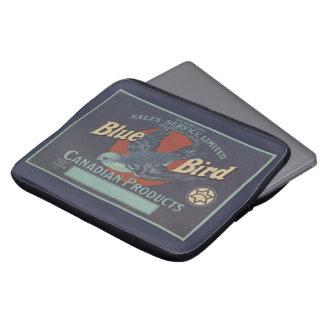 Blauer Vogel-Laptop-Kasten Laptopschutzhülle